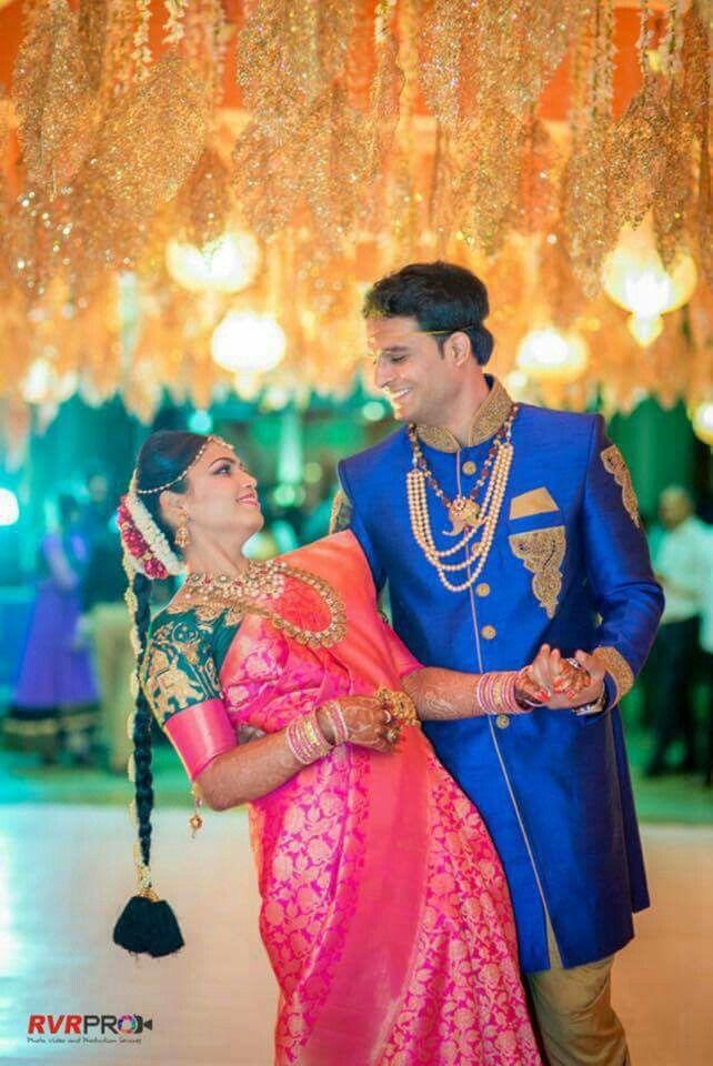 00009a2e47 Telugu bride and groom   Indian Bridal in 2019   Indian wedding ...