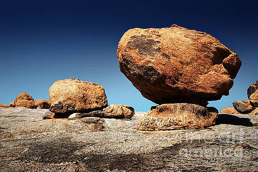 Boulder On Solid Rock By Johan Swanepoel South Africa Travel Guide South Africa Travel Africa Travel