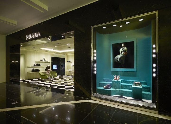 Prada Store Copenhagen Denmark Retail Design Blog