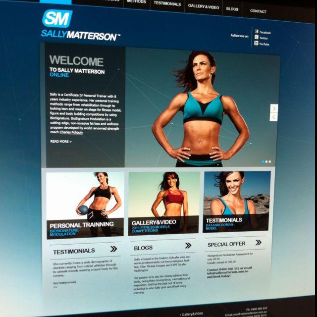 Personal trainer website | Careers Info | Pinterest | Personal ...