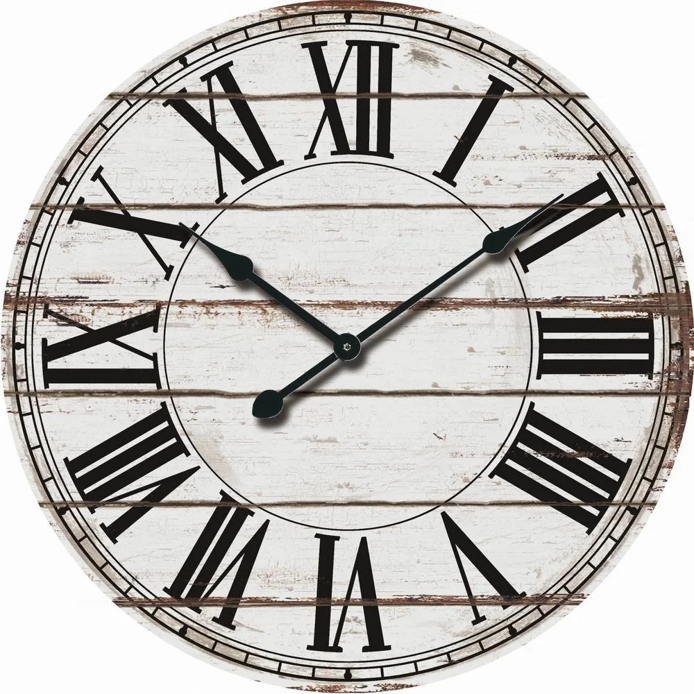 Overstock Com Online Shopping Bedding Furniture Electronics Jewelry Clothing More Oversized Wall Clock Rustic Wall Clocks Farmhouse Wall Clocks