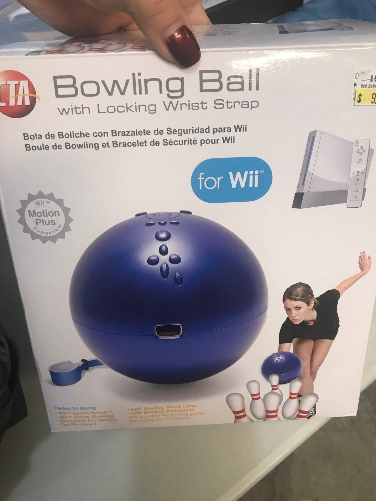 Brand new bowling ball for the wii Bowling, Bowling ball