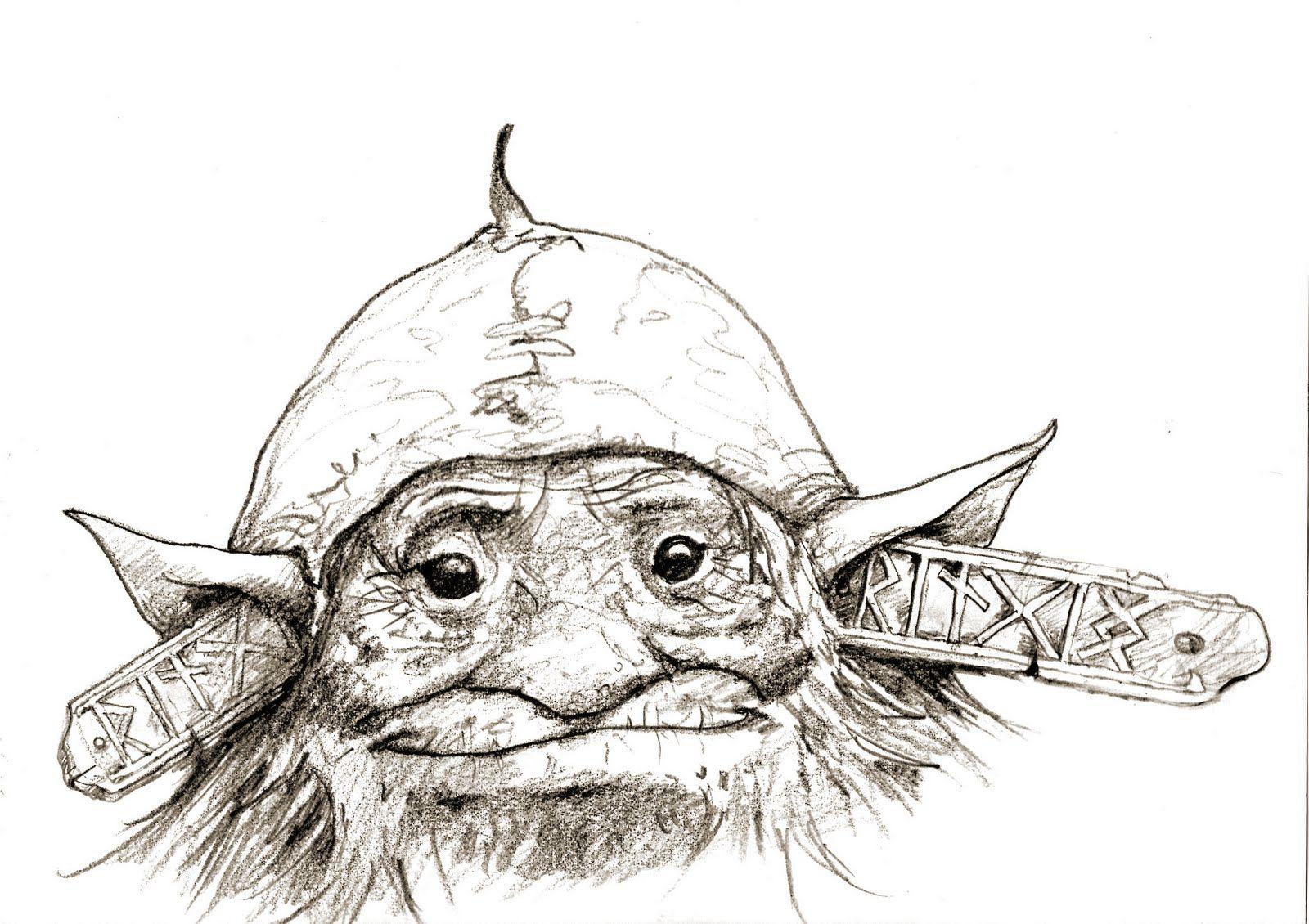 Troll+sketch+by+Brian+Froud.jpg (1600×1130)