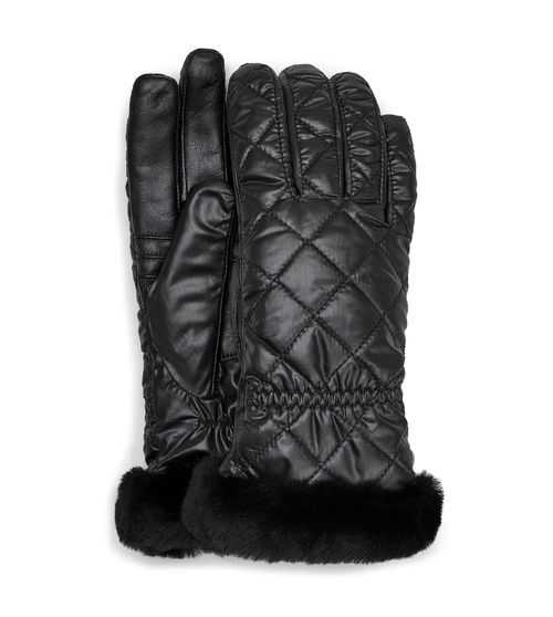Ugg Women S Quilted All Weather Glove Sheepskin Boots In
