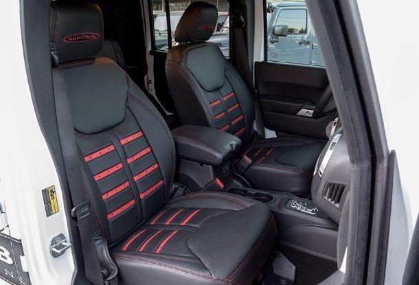 Alea Leather Seats F1 Custom Jeep Wrangler Jeep Wrangler Seat