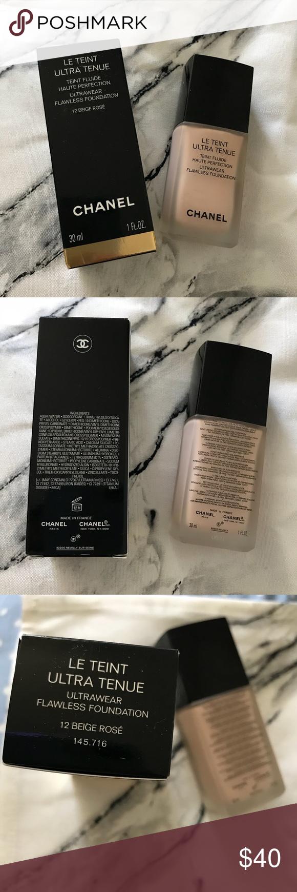 Chanel Ultrawear Flawless Foundation Chanel makeup