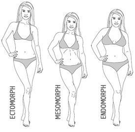i've never heard of this type of body type calculator. it's good to know your frame size before you figure your ideal weight. alot of us would look horrible if we tried to weigh as much as a an ectomorph.