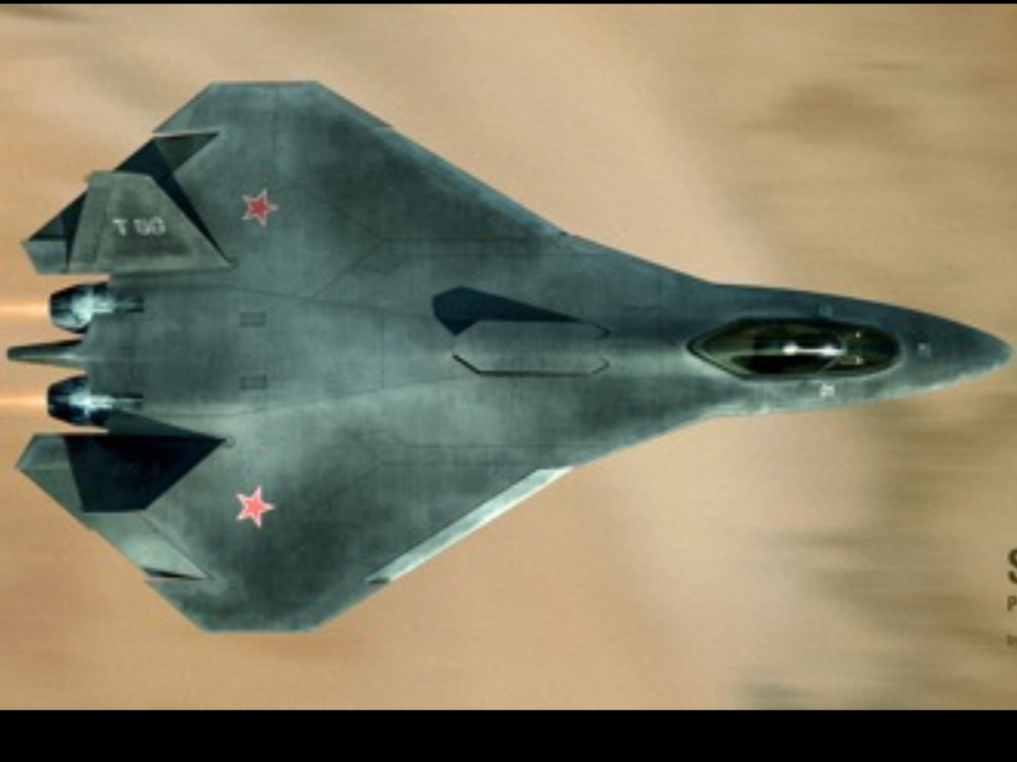 With the recent advances in technology and design aircraft concepts - Suchoi Pak Fa Is One Of The Most Beloved In Terms Of Design And Capabilites Generation Aerial Jet Fighter