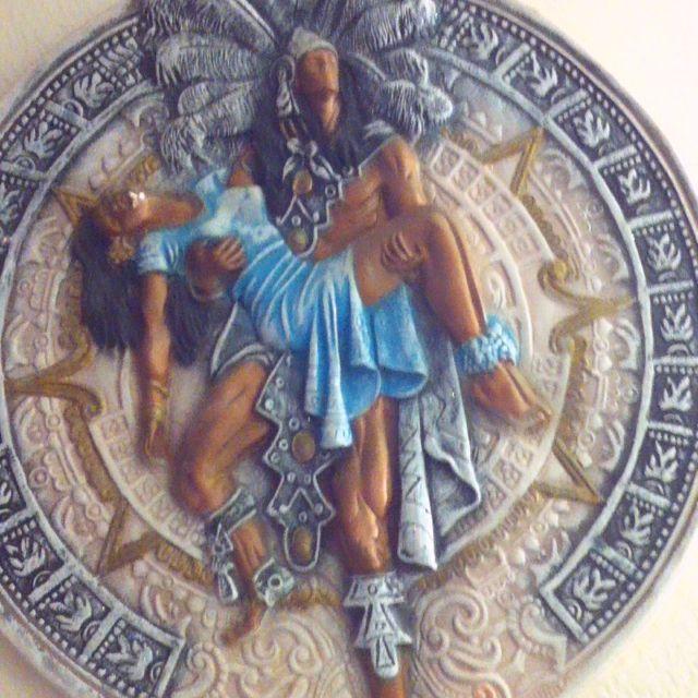 aztec calendar home pinterest aztec calendar