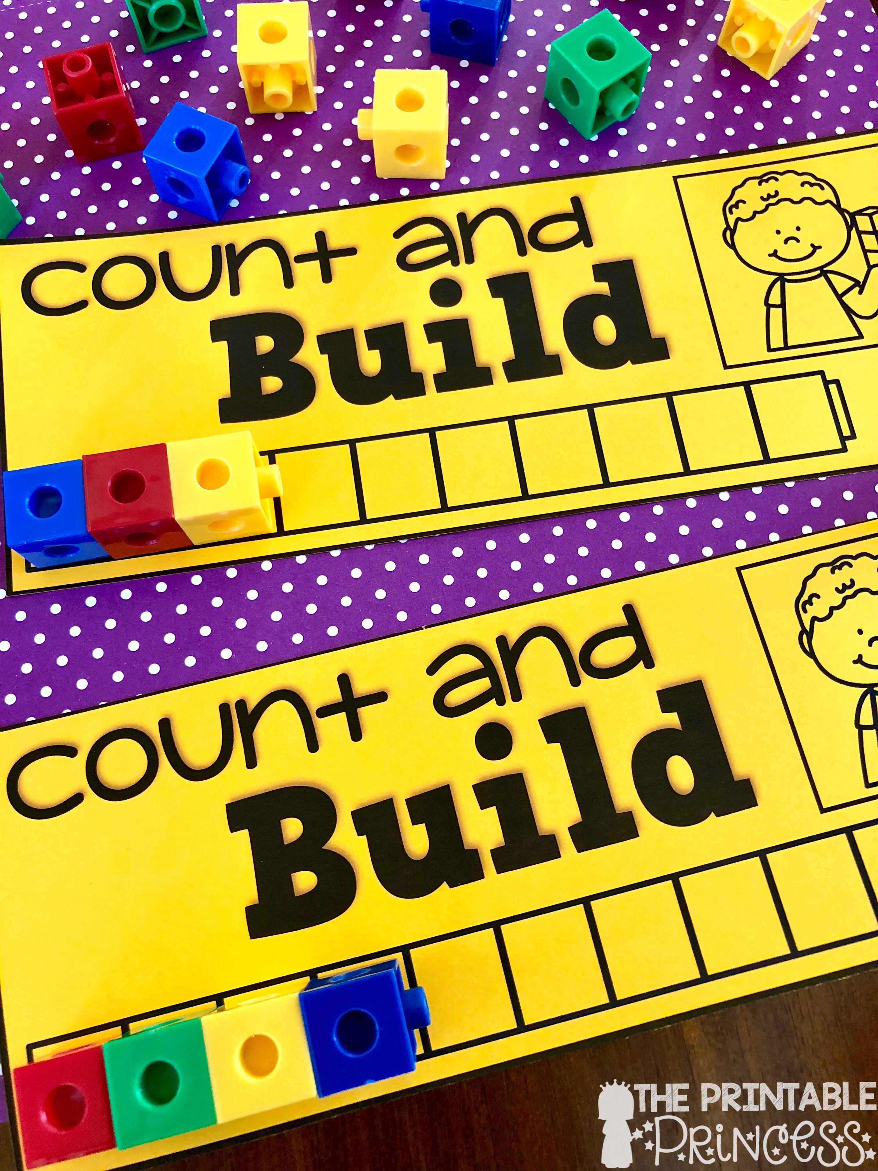 Kindergarten Math Numbers To 10 Bundle