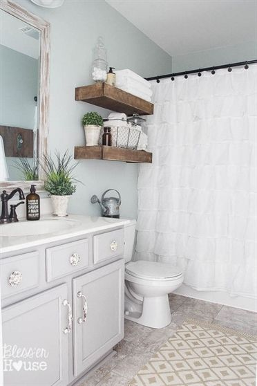 Check Out This Budget Bathroom Makeovers Before And After The Decorator Post