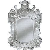 """Found it at Wayfair -  Royale Large Venetian Wall Mirror 47""""H x 29"""" W Special Order 16 weeks"""