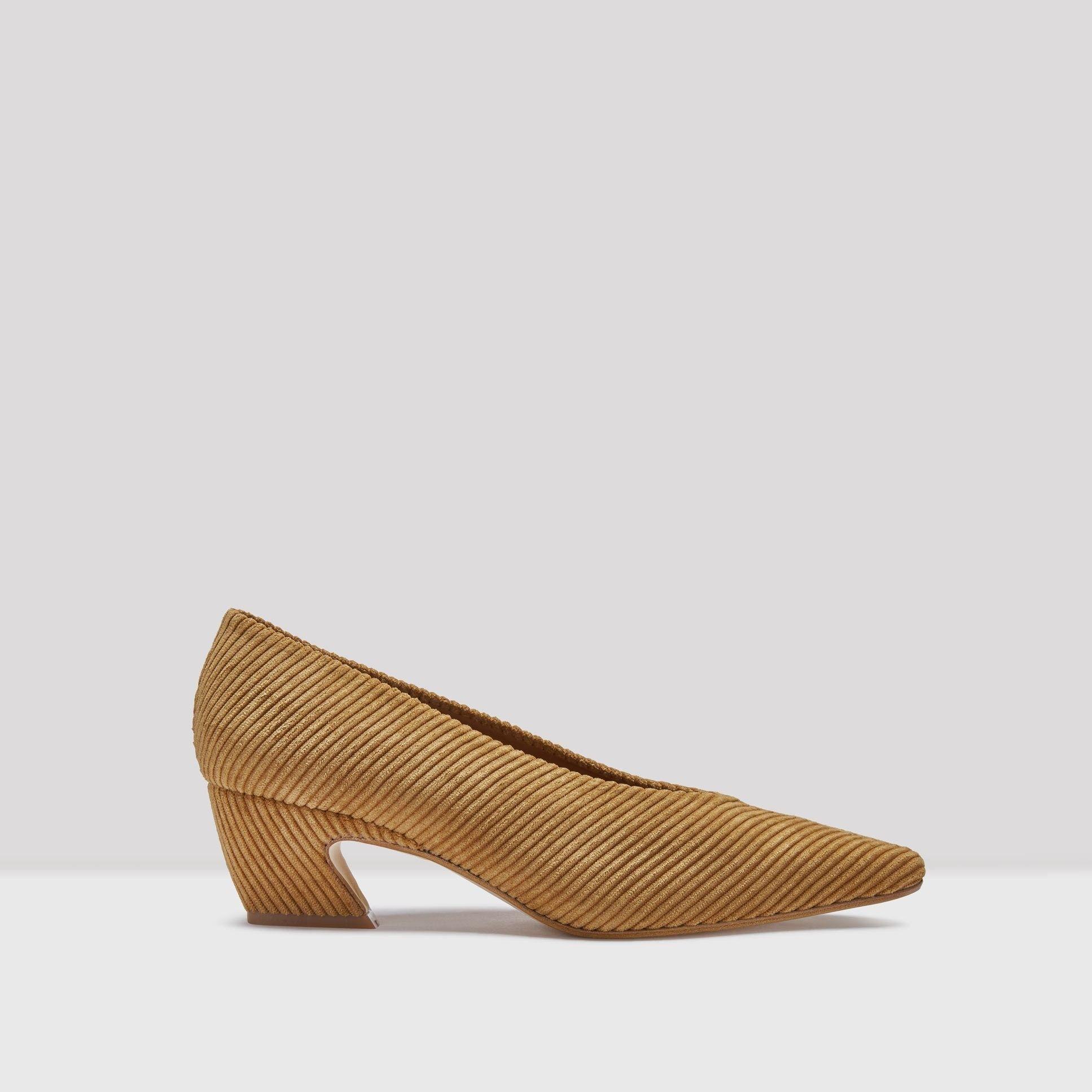 Buy Miista Antonine Toasted Cord Mid Heels online at