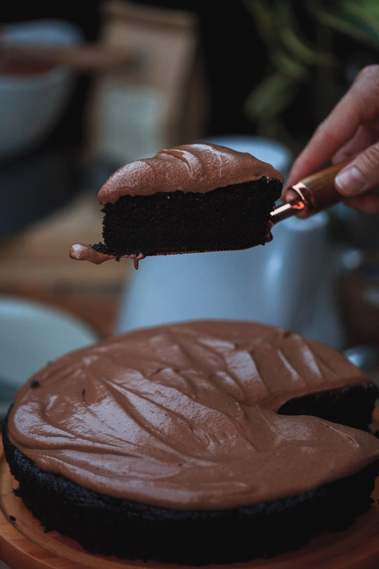 Chocolate Olive Oil Cake #oliveoils