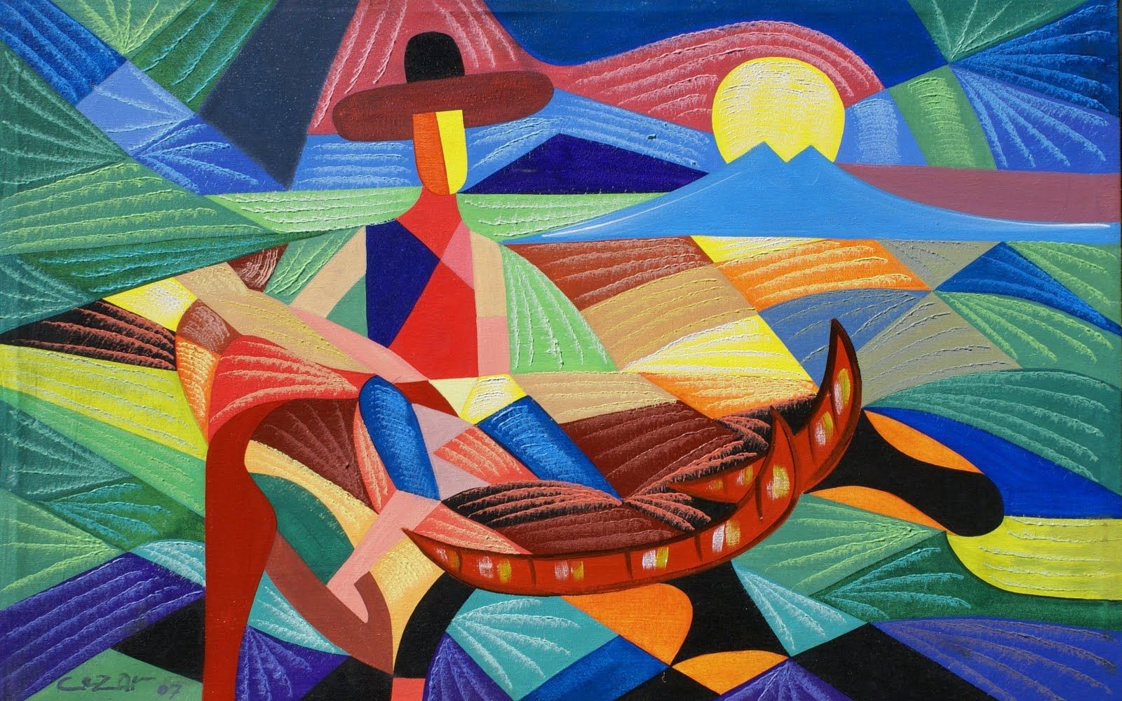 Images For > Famous Mexican Artists Paintings | Abstract ...