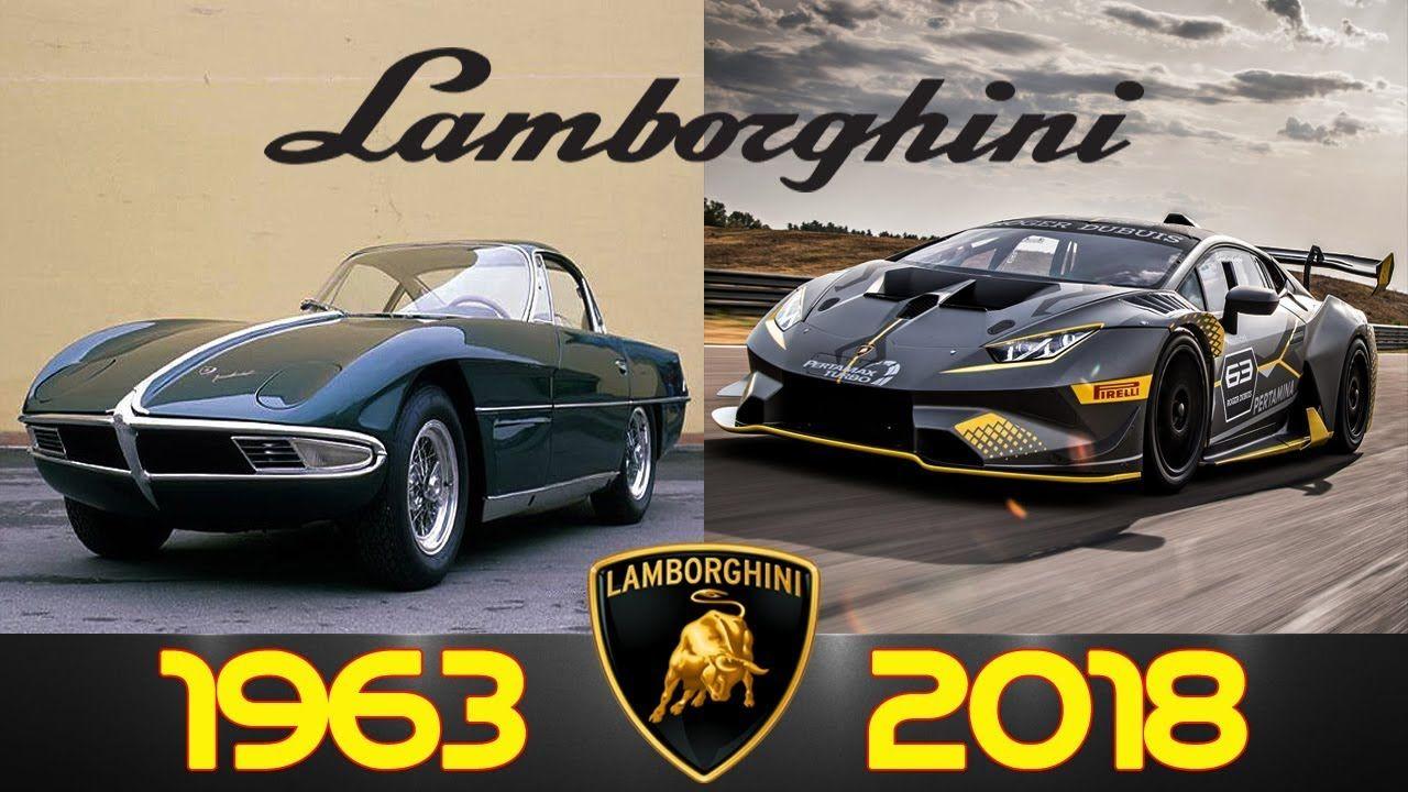 Lamborghini Evolution From 1963 2018 Lamborghini Gallardo Lamborghini Super Cars