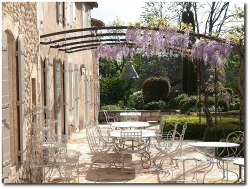 Garden Furniture France vintage french decorating ideas | french iron patio decorating