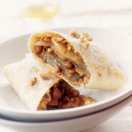 Apple burrito! Think I'll add the sauce from the apple enchilada recipe...