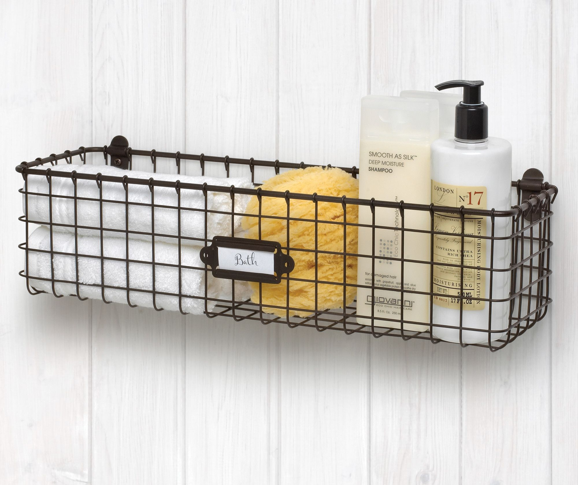 Wall Mount Basket Baskets On Wall Wall Storage Wire Wall Basket