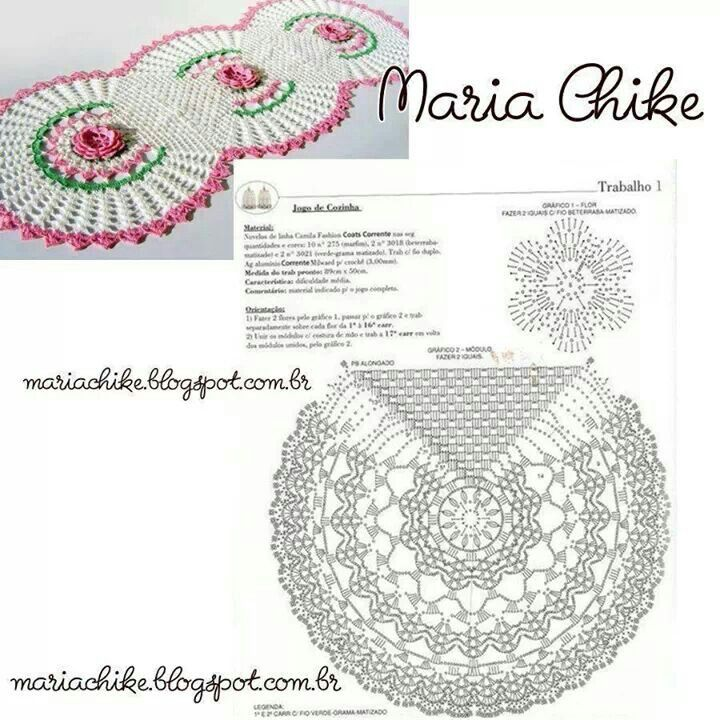 Crocjet Paterns Crochet Pattern Chart Photo 3 Pinterest