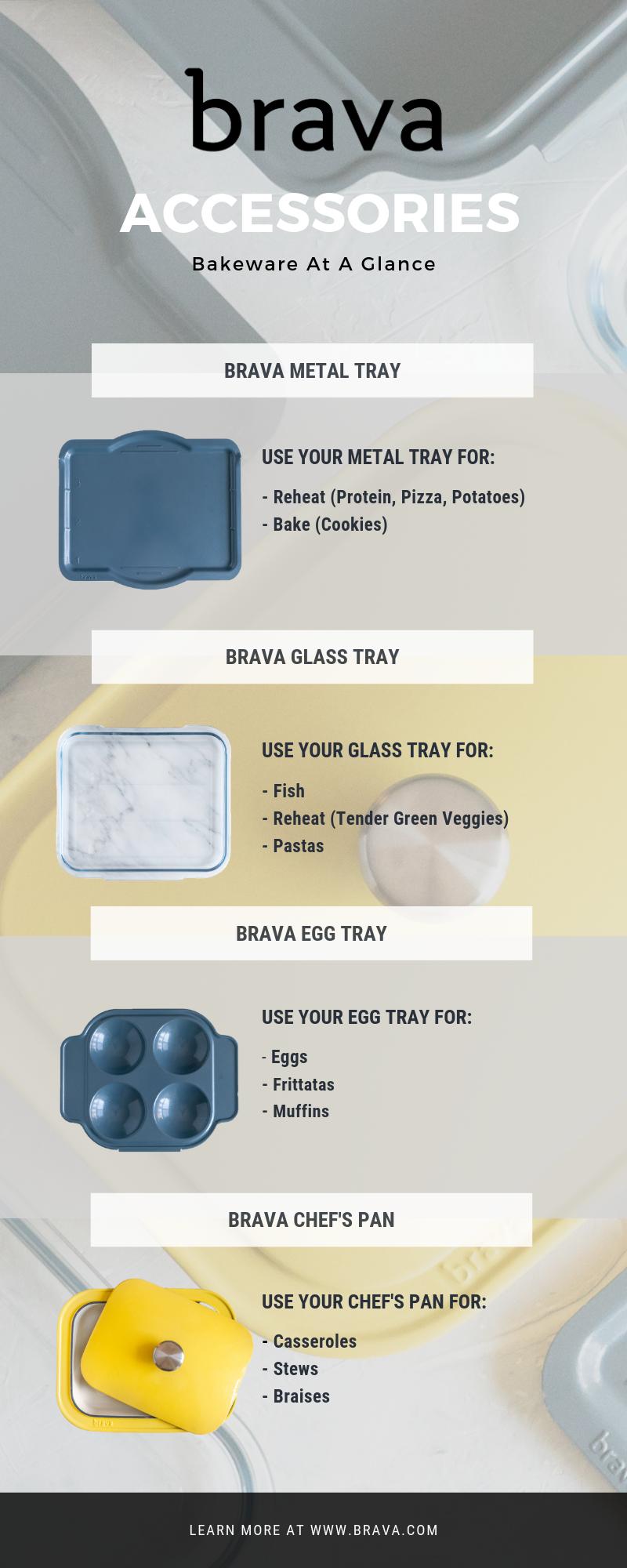 Brava Accessories Oven Recipes Metal Trays Green Veggies