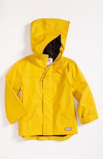 Hunter Raincoat (Toddler)   Nordstrom   Boys rain jacket, Raincoats for  women, Raincoat