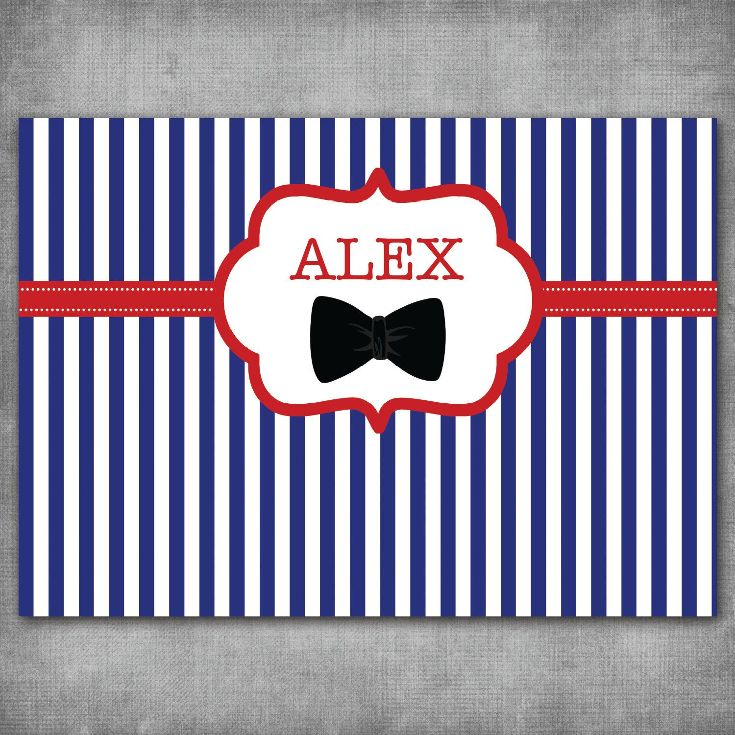 little man, bow tie mustache, navy royal blue black baby shower, 1st ...