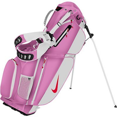 Nike Golf Introduces The Lightweight Versatile Air Sport Carry Bag Weighing Just Under 5lbs It Brings A New Level Of Comfort While Playing On