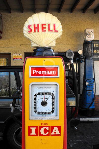 Shell Petrol Pump 1960 s | Royal Dutch Shell Memorabilias | Gas