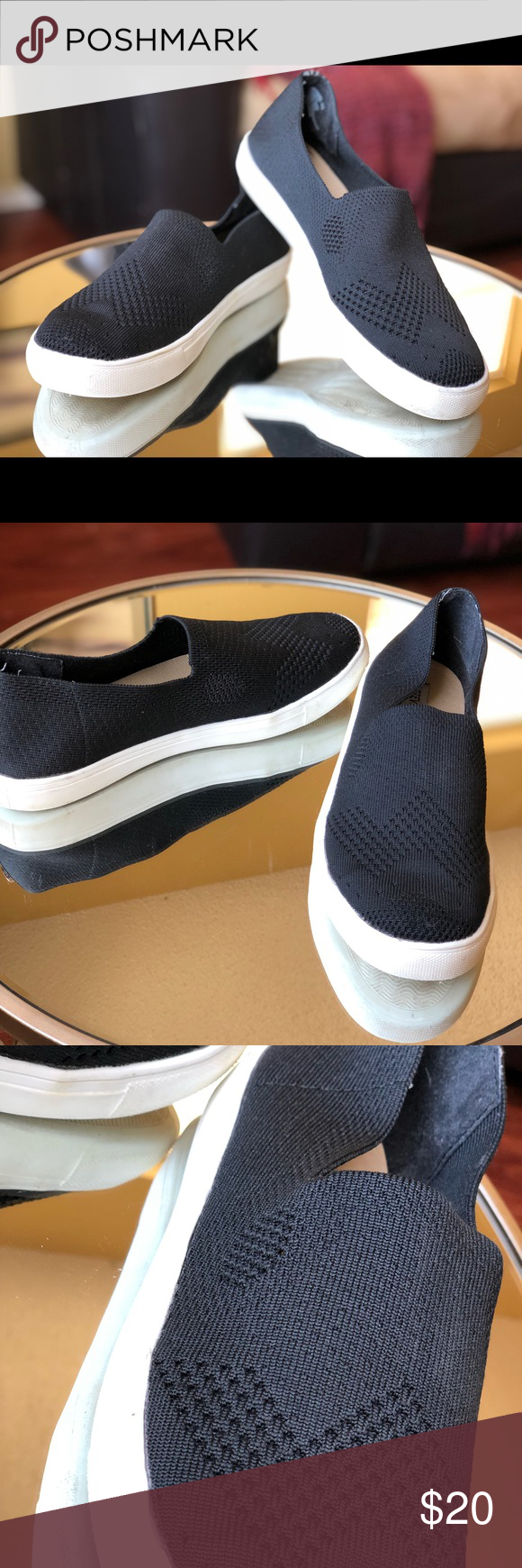 ec2f5e1f07d Steve Madden FRANKEL Women s Steve Madden FRANKEL Black Loafer Size 8.5 Steve  Madden Shoes