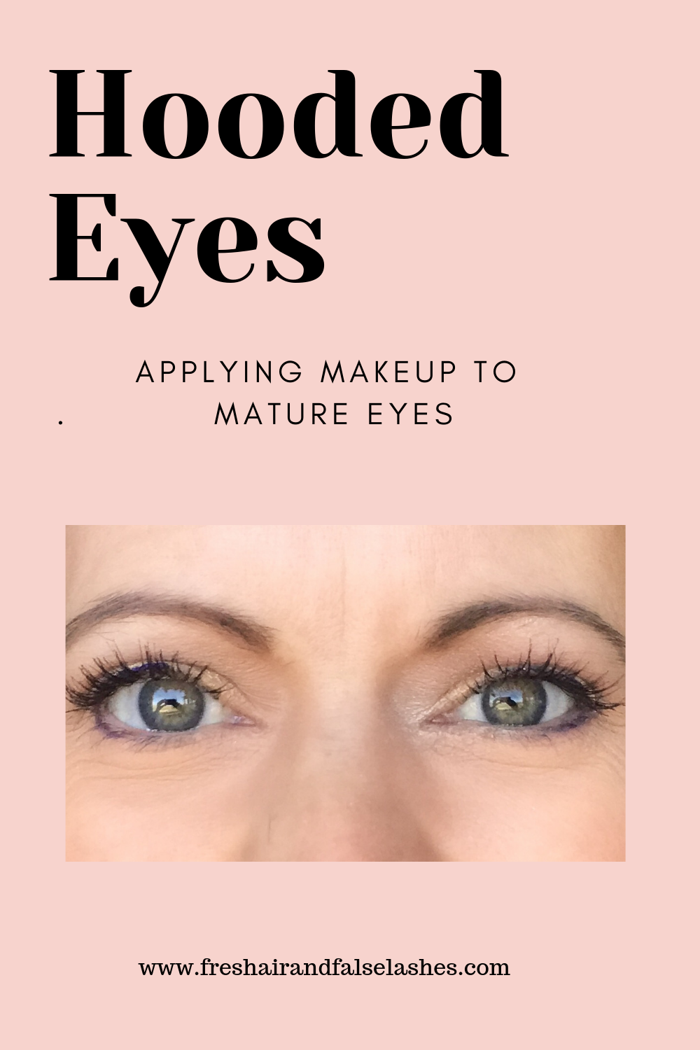 Mature, Hooded Eyes. Tips & Tricks to apply makeup for