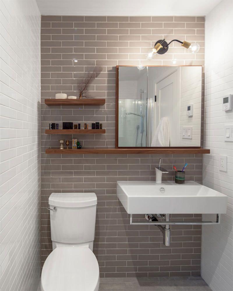 Decoração para banheiro pequeno e simples  Gatos e Simples -> Banheiros Lavabos Simples