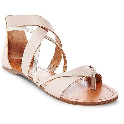 Women's Adeline Thong Sandals - Taupe Mossimo Supply Co.™ : Target