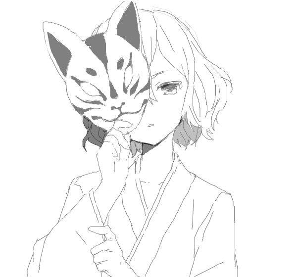 Anime Kawaii Black And White Buscar Con Google Ausmalbilder