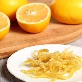 Faire Confire Des Zestes D Agrumes Recettes De Cuisine Citrons