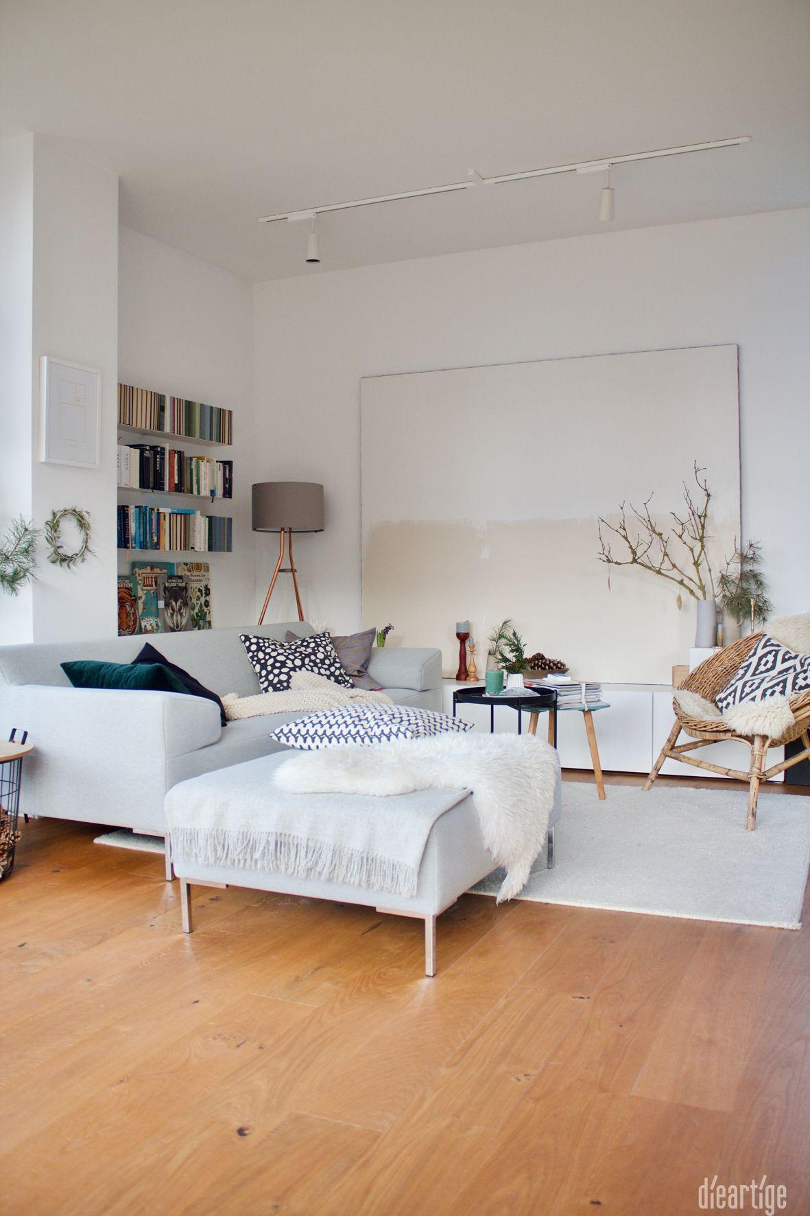 Dieartige Wohnzimmer In Weiss Und Naturtonen Dieartigehome In