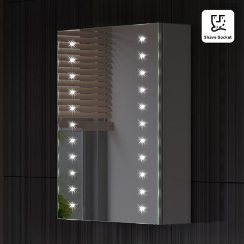 led mirror cabinet with shaver socket led mirror cabinets and x