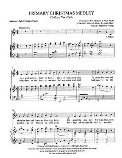 Lds Christmas Hymns.Singing Time Idea Primary Christmas Medley Primary