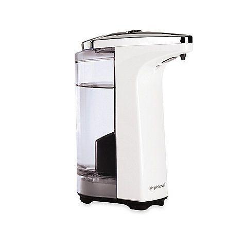Simplehuman Compact Sensor Pump Soap Dispenser In White