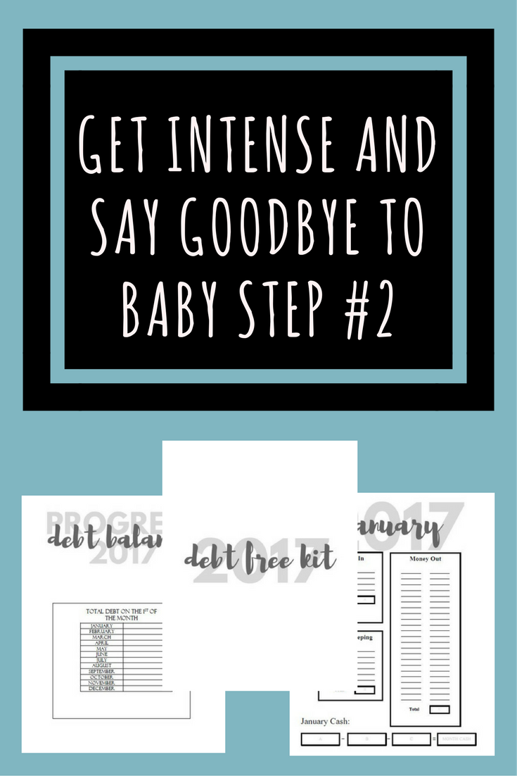 Great Printables For Those In Baby Step 2 Following Dave Ramseys