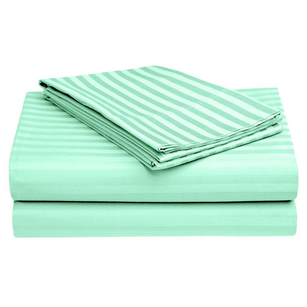 Soft & Luxurious 4 Piece Cotton Bed Sheet Set 300 TC Twin XL Size #StoryHome #Modern