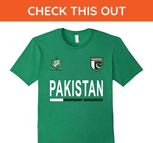 Mens Pakistan Soccer T-Shirt - Pakistani Football Jersey 2017 Medium Kelly  Green - Sports shirts ( Amazon Partner-Link) a5eebed9b