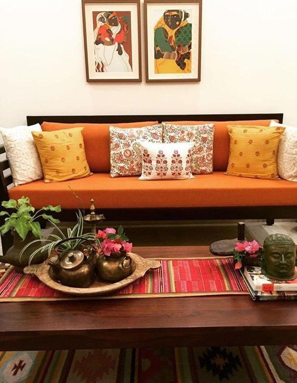 34 Beautiful Indian Home Decor Ideas Indian Living Room Design