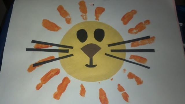 A Lion For Idioms Todays Quick And Easy Art Project 1 Zoo Units