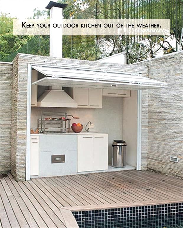 31 Entertainment Outdoor Kitchen Bar Ideas For Family Gathering Place