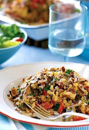 Recipe Trisha Yearwoods Chicken And Wild Rice Casserole Serves 10