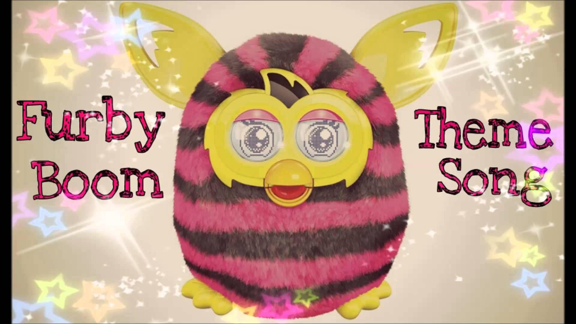 Furby Boom Theme Song! (HQ) Furby boom, Furby, Christmas