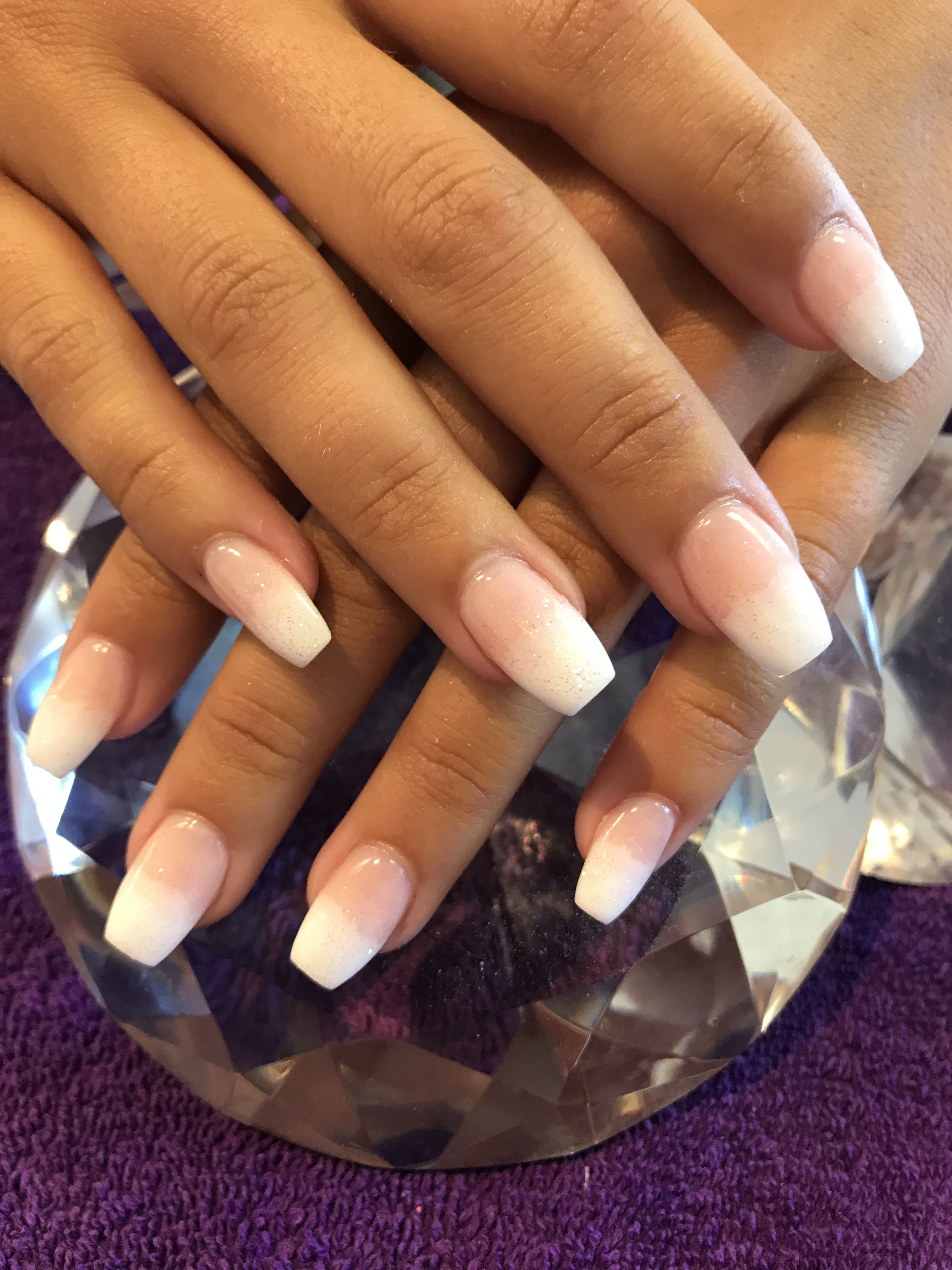 French Ombre Dip Nails Dipped Nails Nails French Nails
