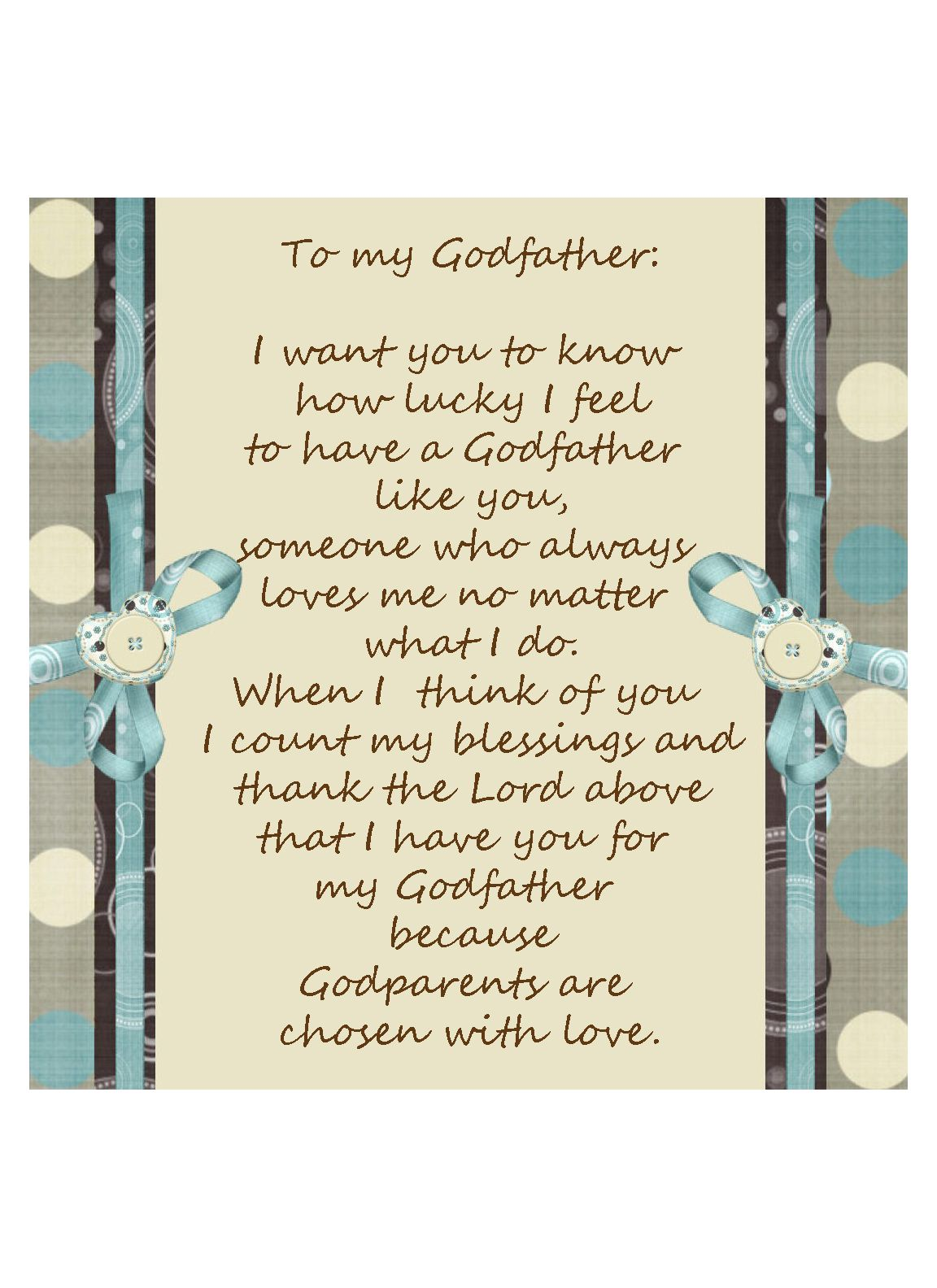 Godfather picture frame insert gift idea godchild gifts godfather picture frame insert gift idea jeuxipadfo Image collections