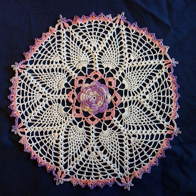 Ravelry Dorothys Roses Doily Pattern By Elizabeth Ann White